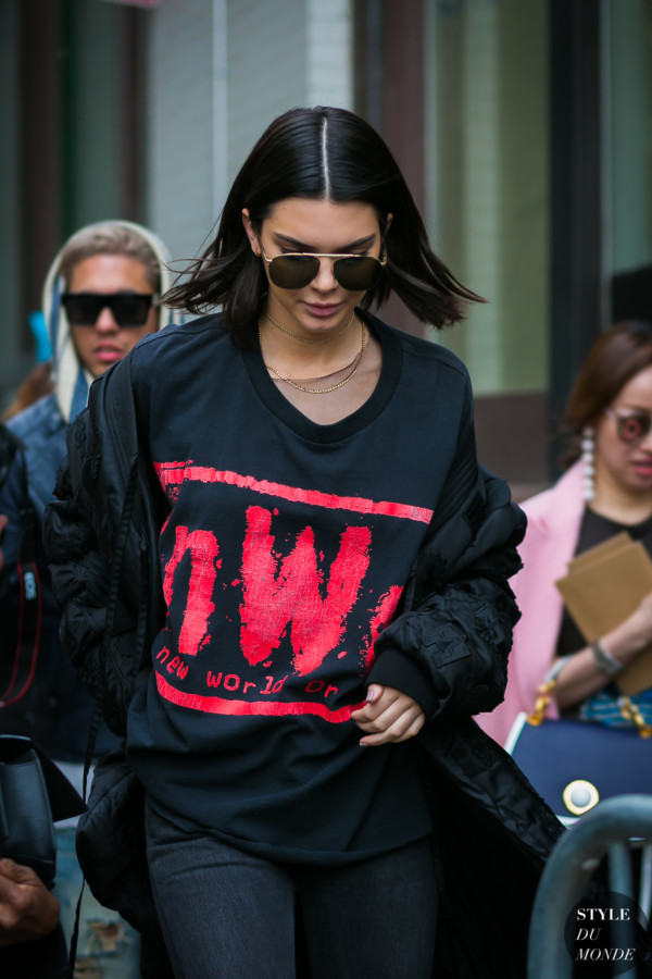 Kendall Jenner by STYLEDUMONDE Street Style Fashion Photography