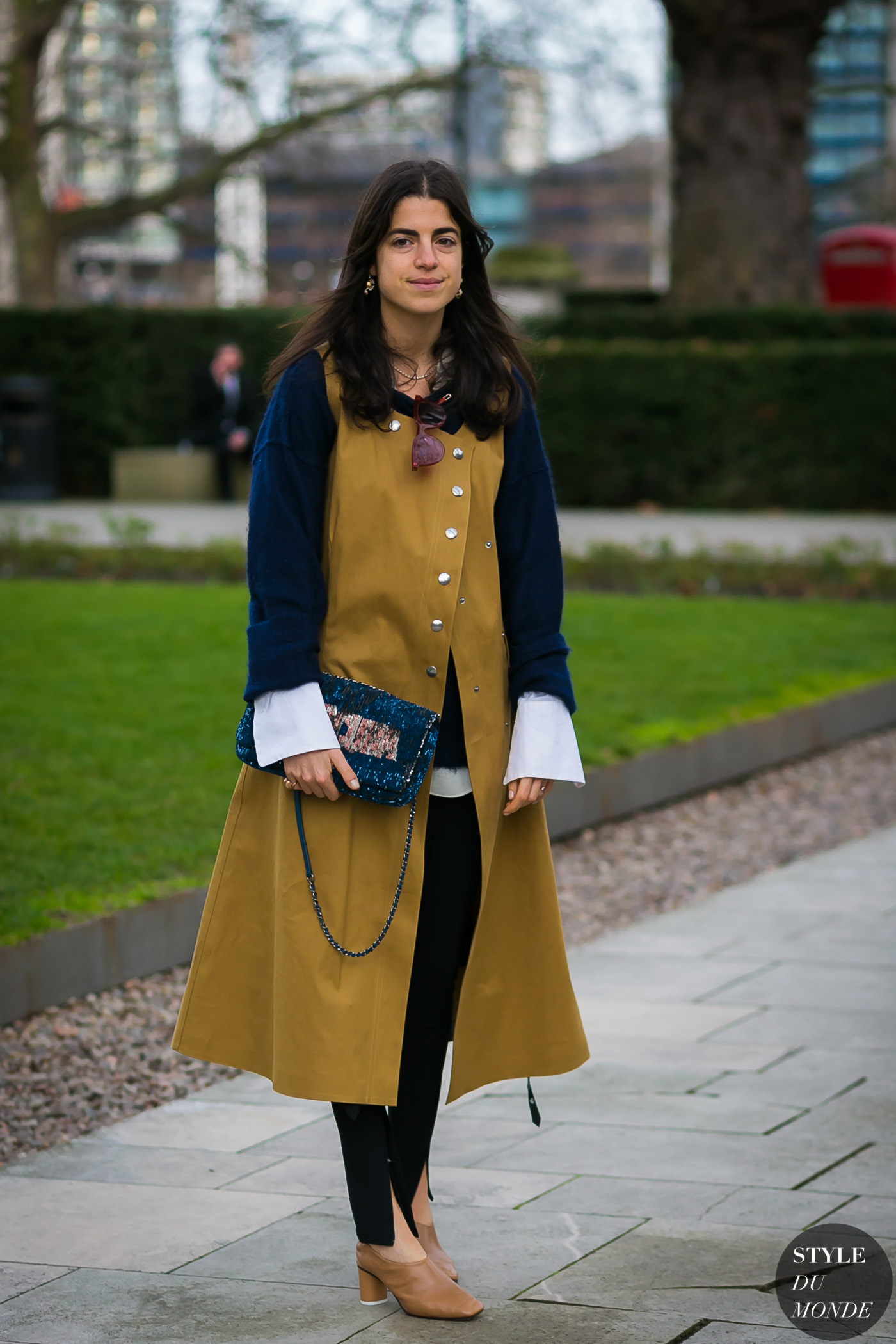 Leandra Medine by STYLEDUMONDE Street Style Fashion Photography