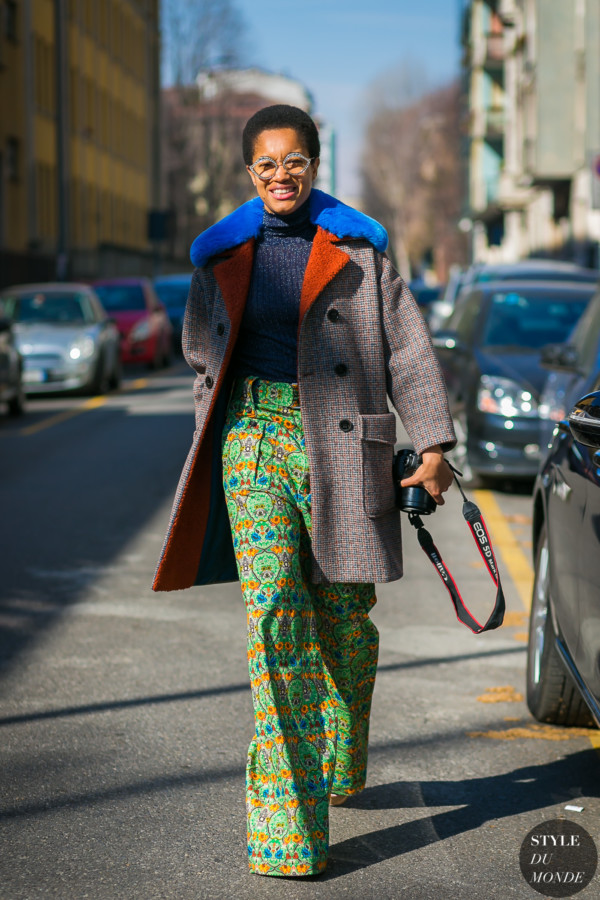 Tamu McPherson by STYLEDUMONDE Street Style Fashion Photography