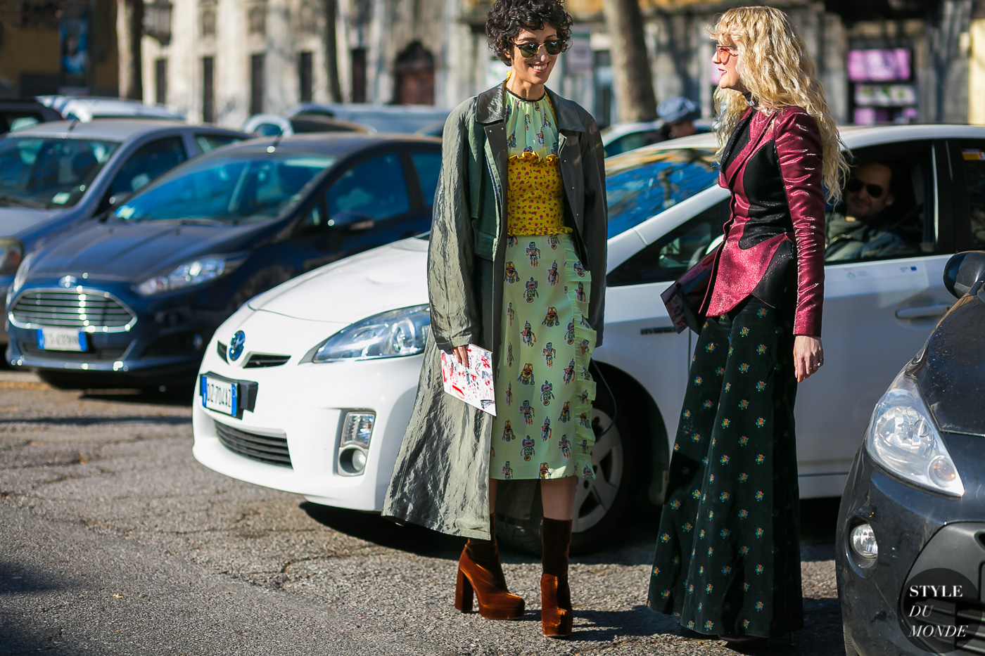 Yasmin Sewell and Hattie Hawksworth by STYLEDUMONDE Street Style Fashion Photography
