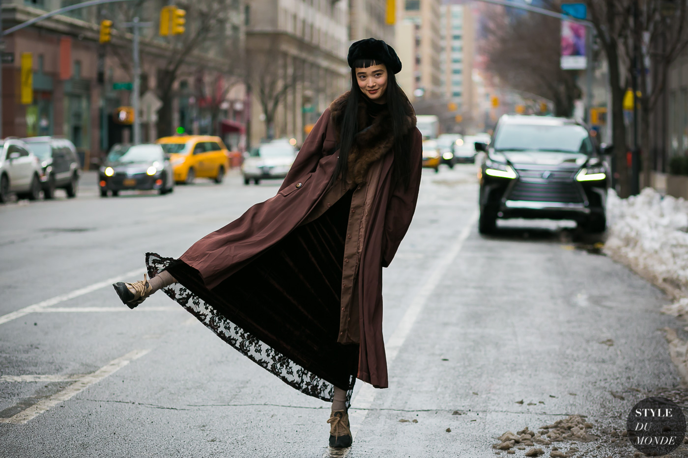 Yuka Mannami by STYLEDUMONDE Street Style Fashion Photography