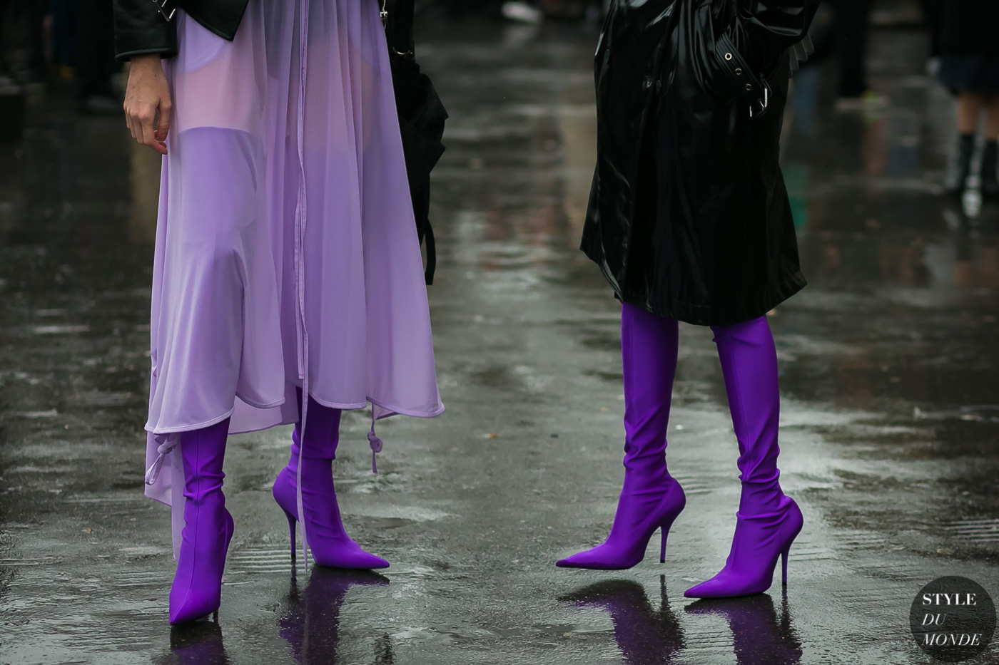 Balenciaga boots by STYLEDUMONDE Street Style Fashion Photography