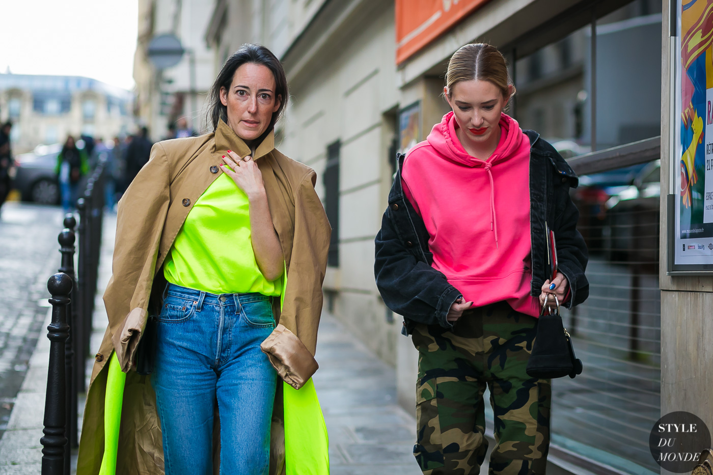 Brigitte Chartrand and Elizabeth Clark by STYLEDUMONDE Street Style Fashion Photography