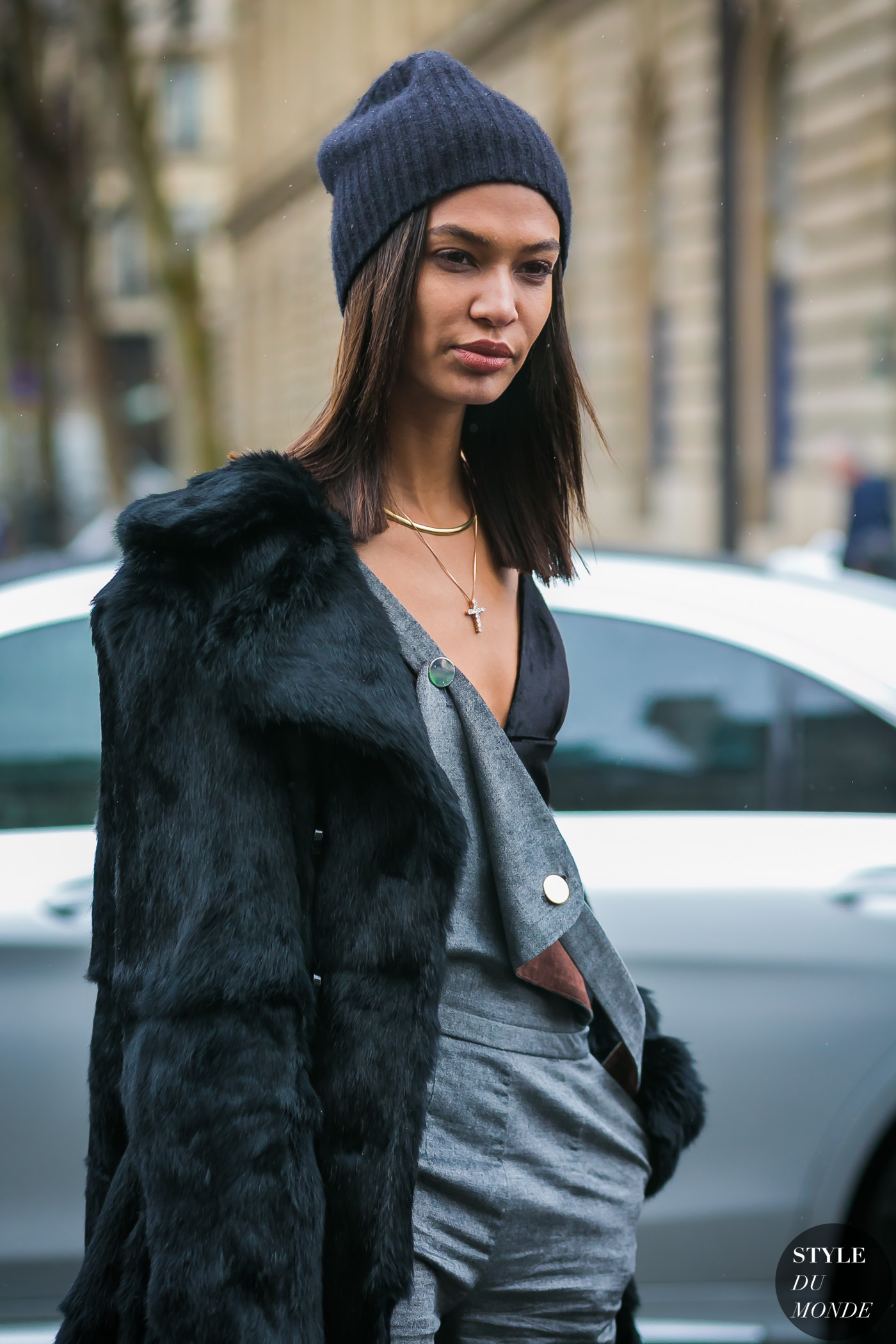 Joan Smalls by STYLEDUMONDE Street Style Fashion Photography