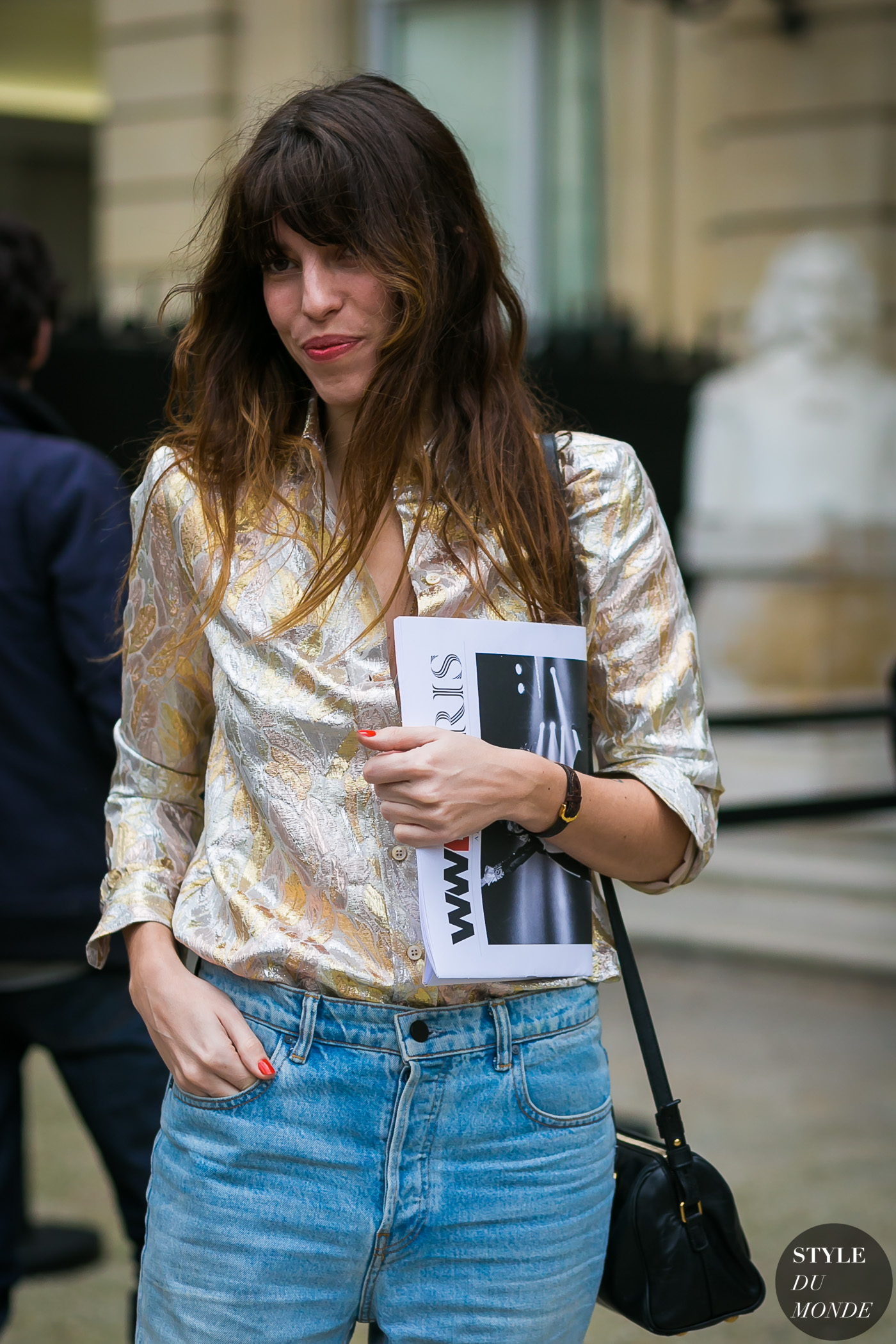 Paris Fashion Week Fall  Street Style