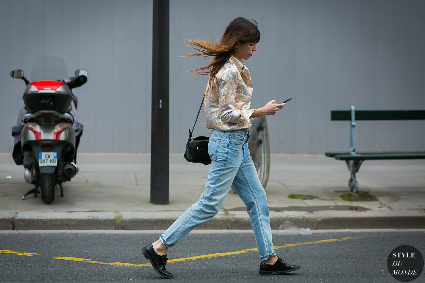 Lou Doillon by STYLEDUMONDE Street Style Fashion Photography