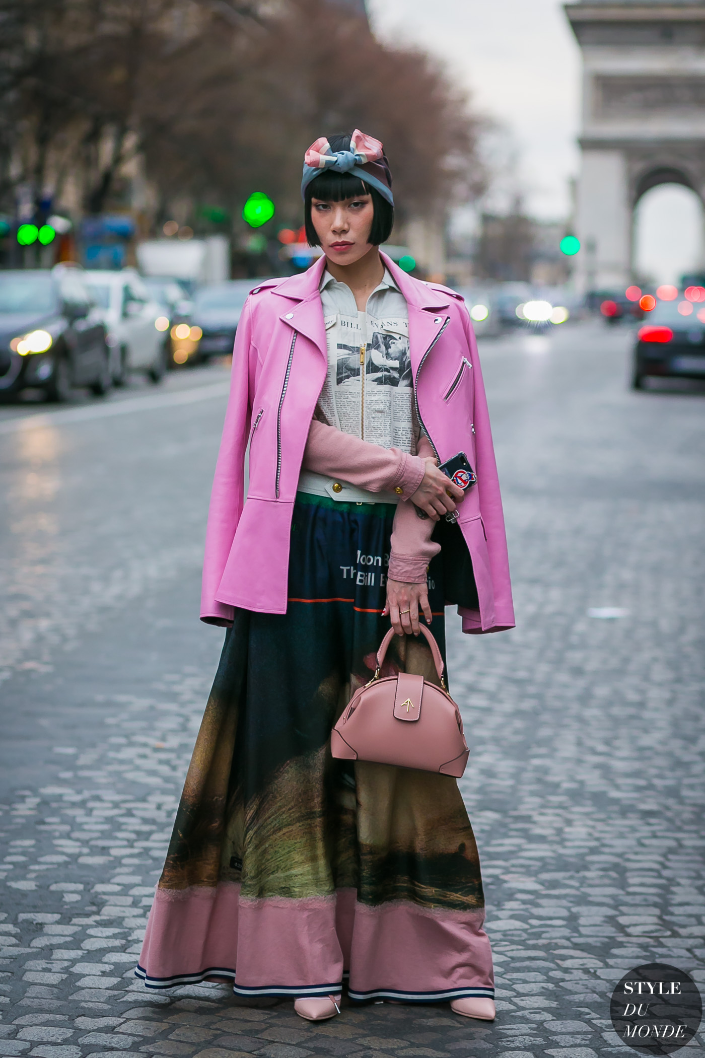 Mademoiselle Yulia by STYLEDUMONDE Street Style Fashion Photography