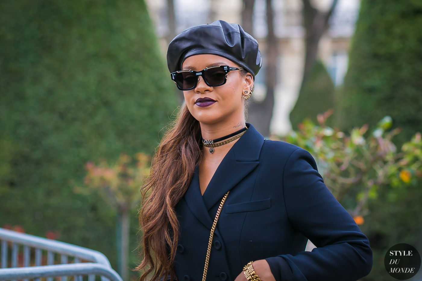 Rihanna by STYLEDUMONDE Street Style Fashion Photography