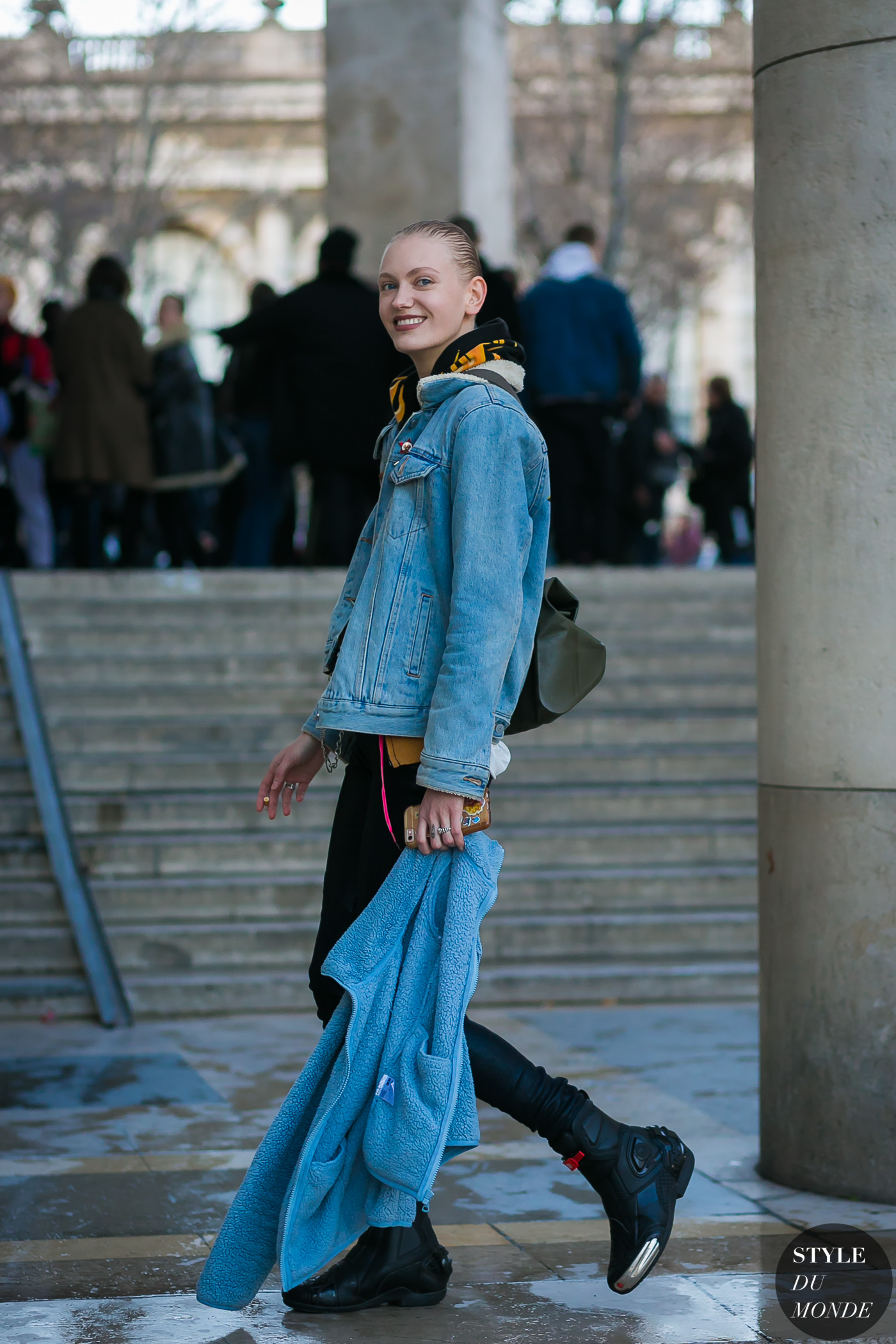 Sasha Melnychuk by STYLEDUMONDE Street Style Fashion Photography