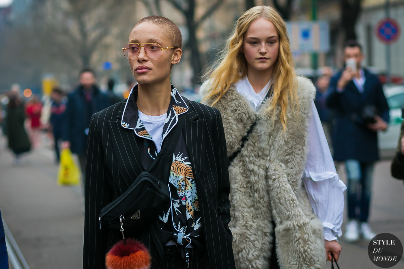 Adwoa Aboah and Jean Campbell by STYLEDUMONDE Street Style Fashion Photography0E2A6247