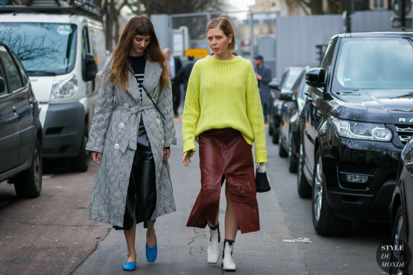 Brie Welch and Megan Bowman Gray by STYLEDUMONDE Street Style Fashion Photography