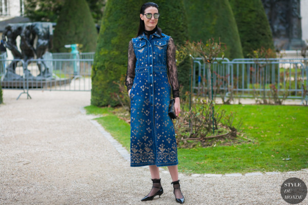 Erin O'Connor by STYLEDUMONDE Street Style Fashion Photography