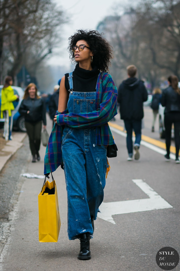 Imaan Hammam by STYLEDUMONDE Street Style Fashion Photography