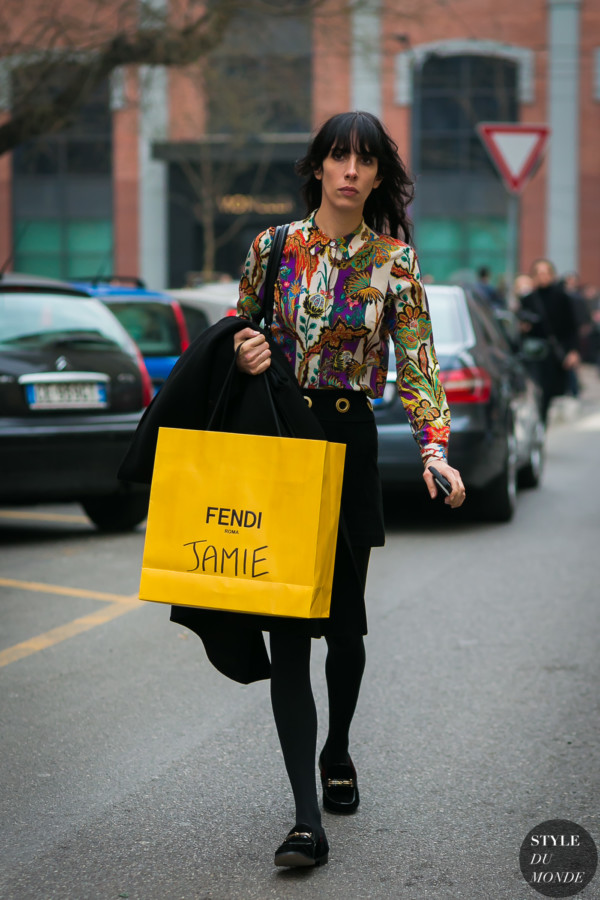 Jamie Bochert by STYLEDUMONDE Street Style Fashion Photography