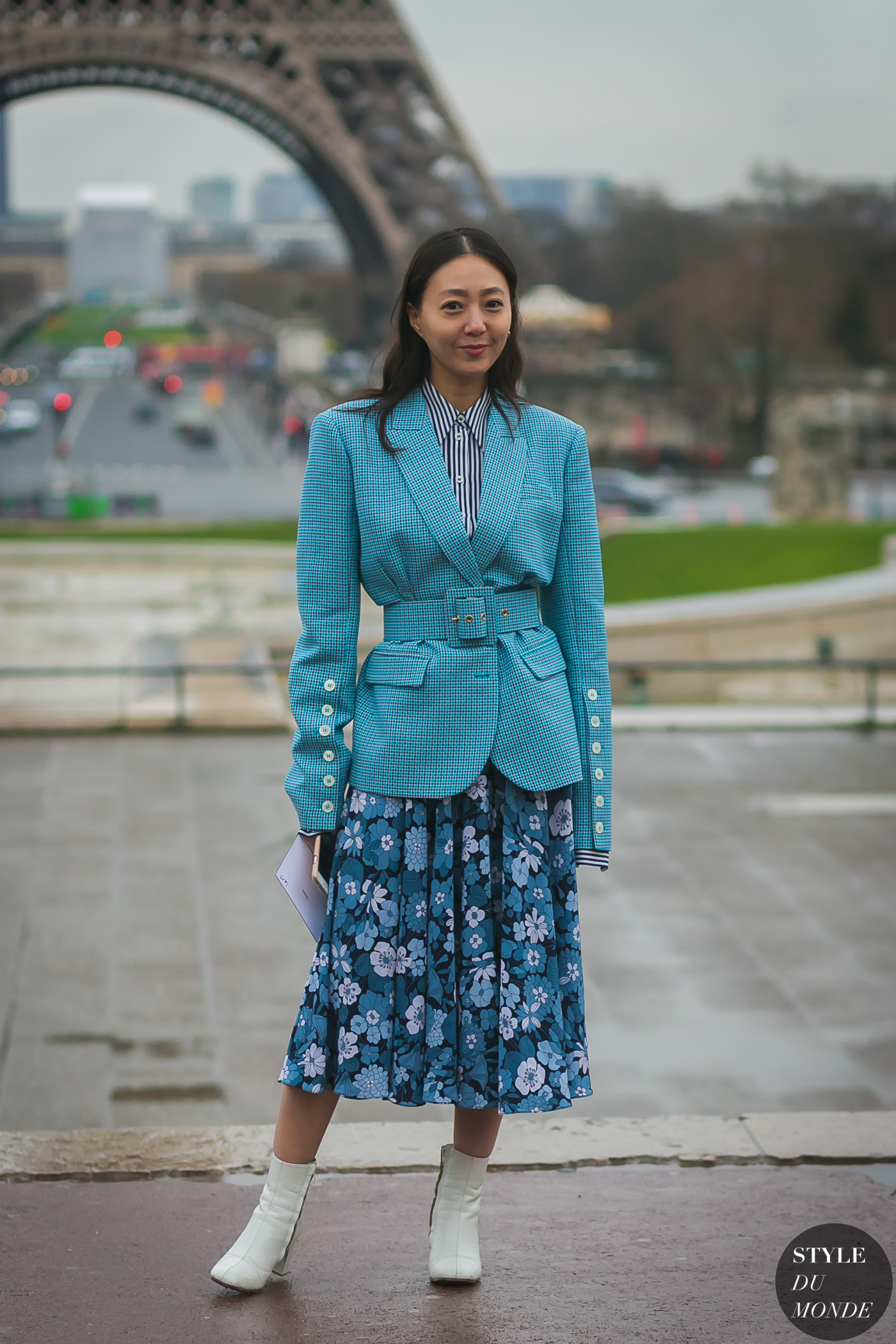 Jiyoung Kim by STYLEDUMONDE Street Style Fashion Photography