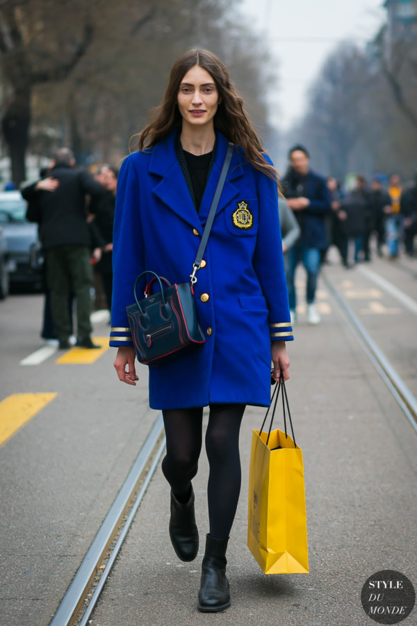 Marine Deleeuw by STYLEDUMONDE Street Style Fashion Photography