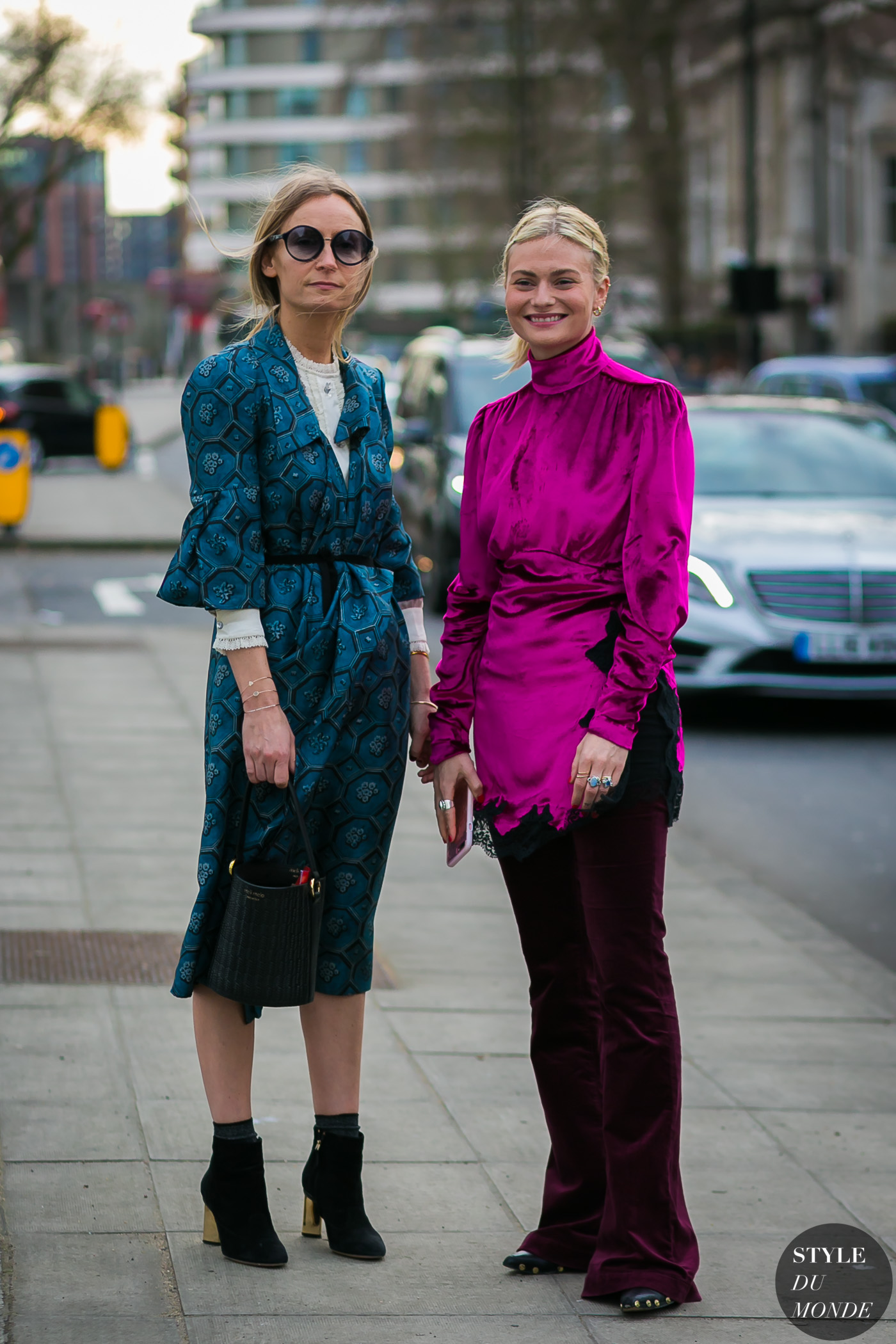 Martha Ward and Pandora Sykes by STYLEDUMONDE Street Style Fashion Photography
