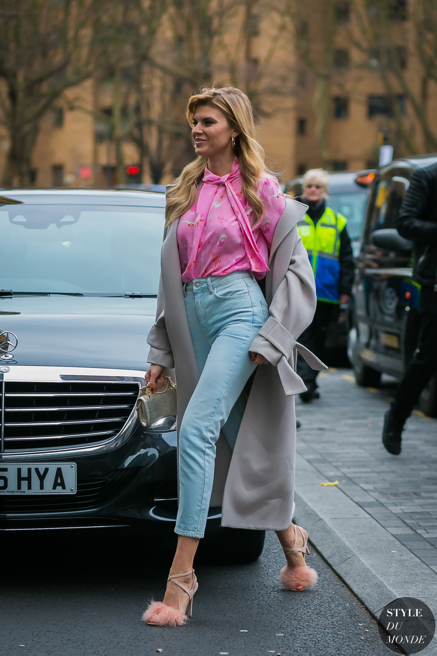 Maryna Linchuk by STYLEDUMONDE Street Style Fashion Photography
