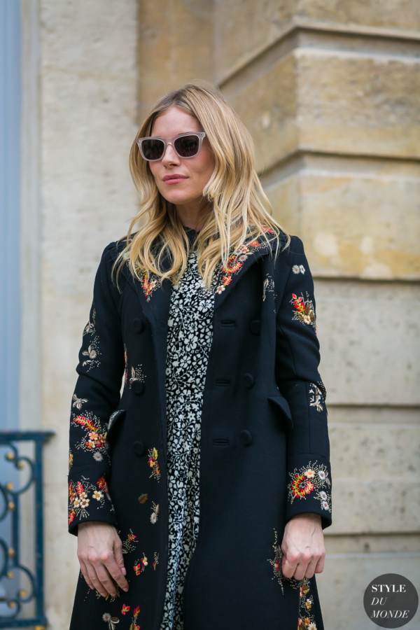 Sienna Miller by STYLEDUMONDE Street Style Fashion Photography