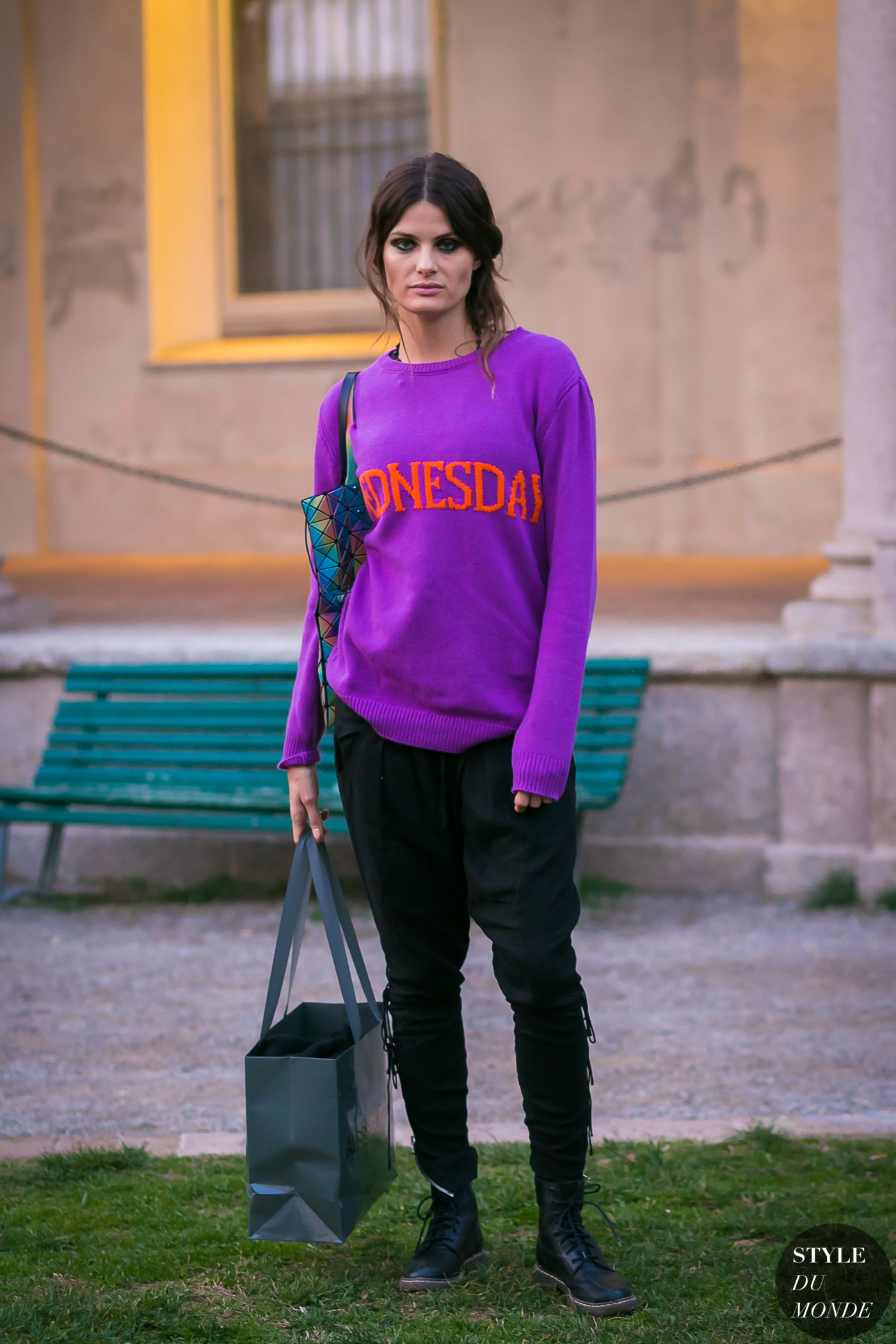Isabeli Fontana by STYLEDUMONDE Street Style Fashion Photography