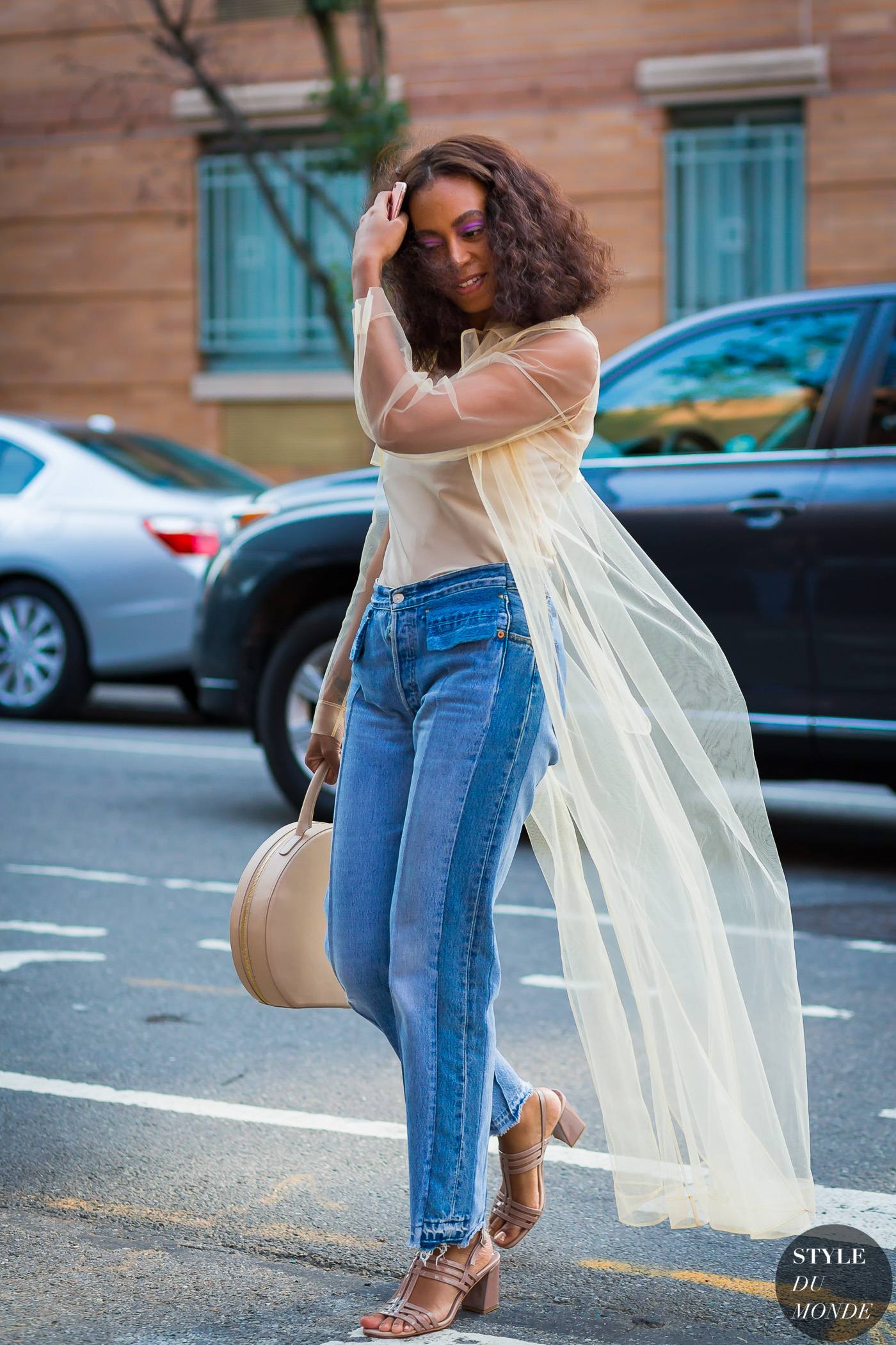 Solange Knowles by STYLEDUMONDE Street Style Fashion Photography