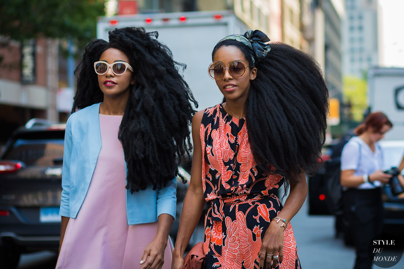 TK Wonder and Cipriana Quann After Brock Collection by STYLEDUMONDE Street Style Fashion Photography