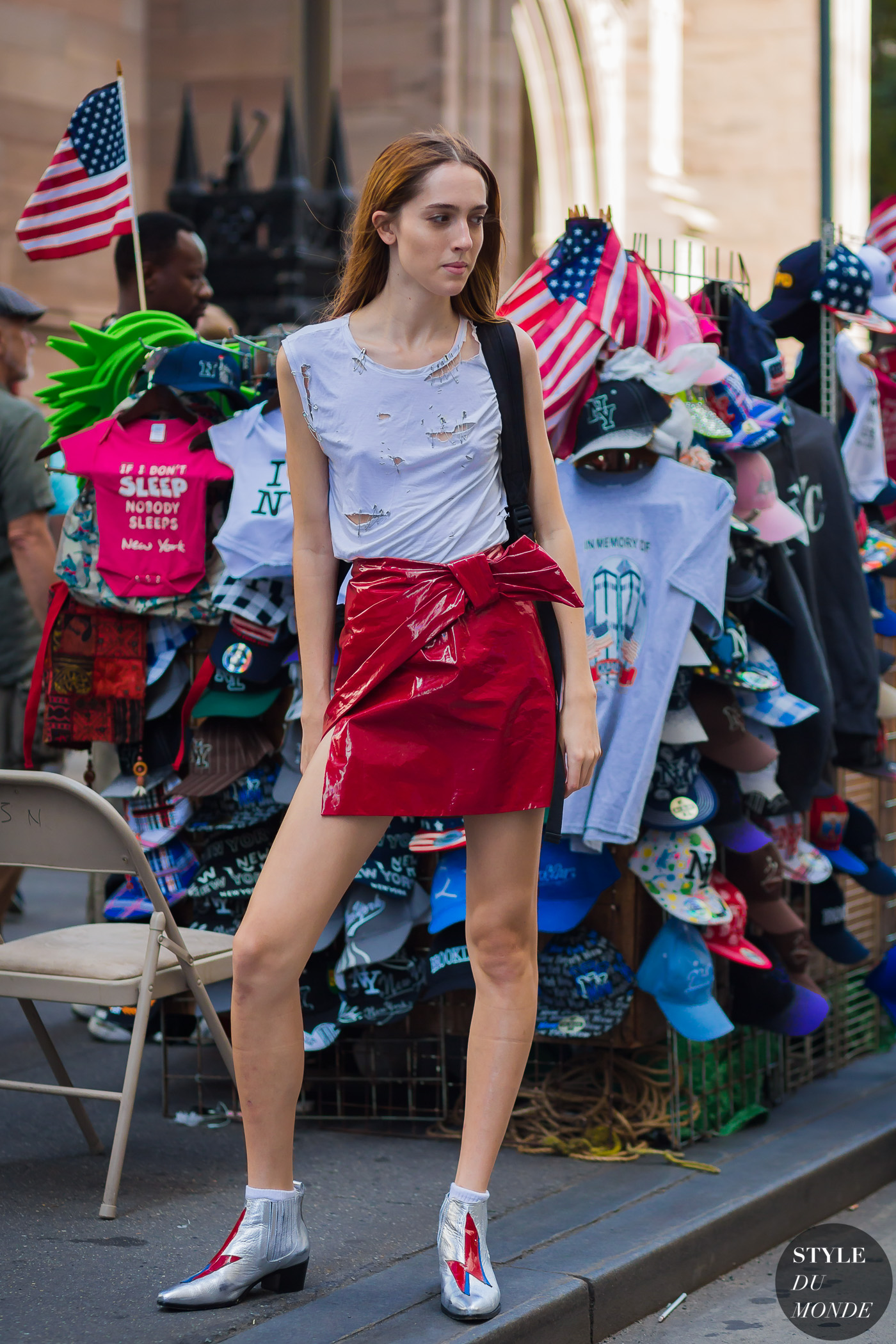 Teddy Quinlivan by STYLEDUMONDE Street Style Fashion Photography