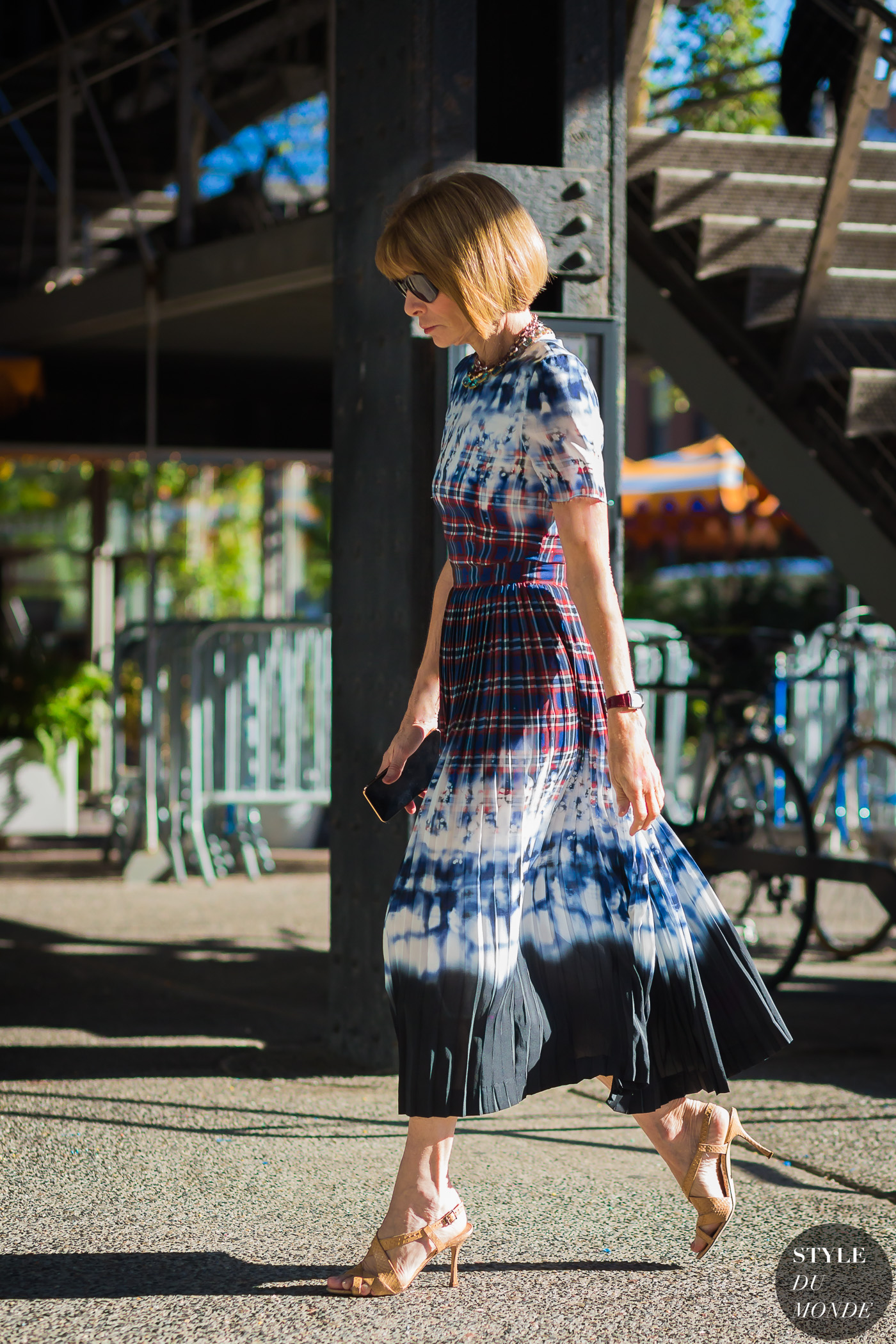 Anna Wintour by STYLEDUMONDE Street Style Fashion Photography