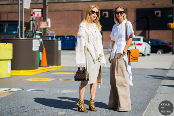 Annabel Rosendahl and Celine Aagaard by STYLEDUMONDE Street Style Fashion Photography