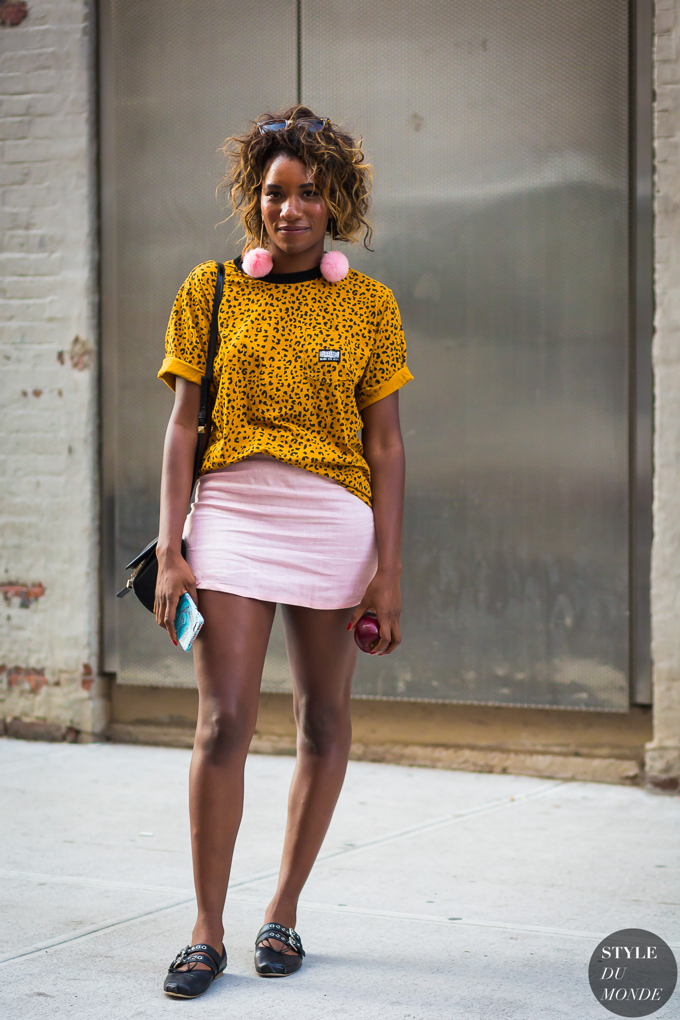 Danielle Prescod by STYLEDUMONDE Street Style Fashion Photography