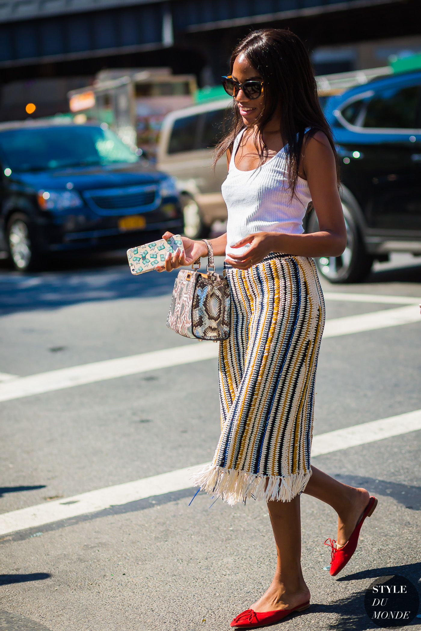 Gabby Prescod by STYLEDUMONDE Street Style Fashion Photography
