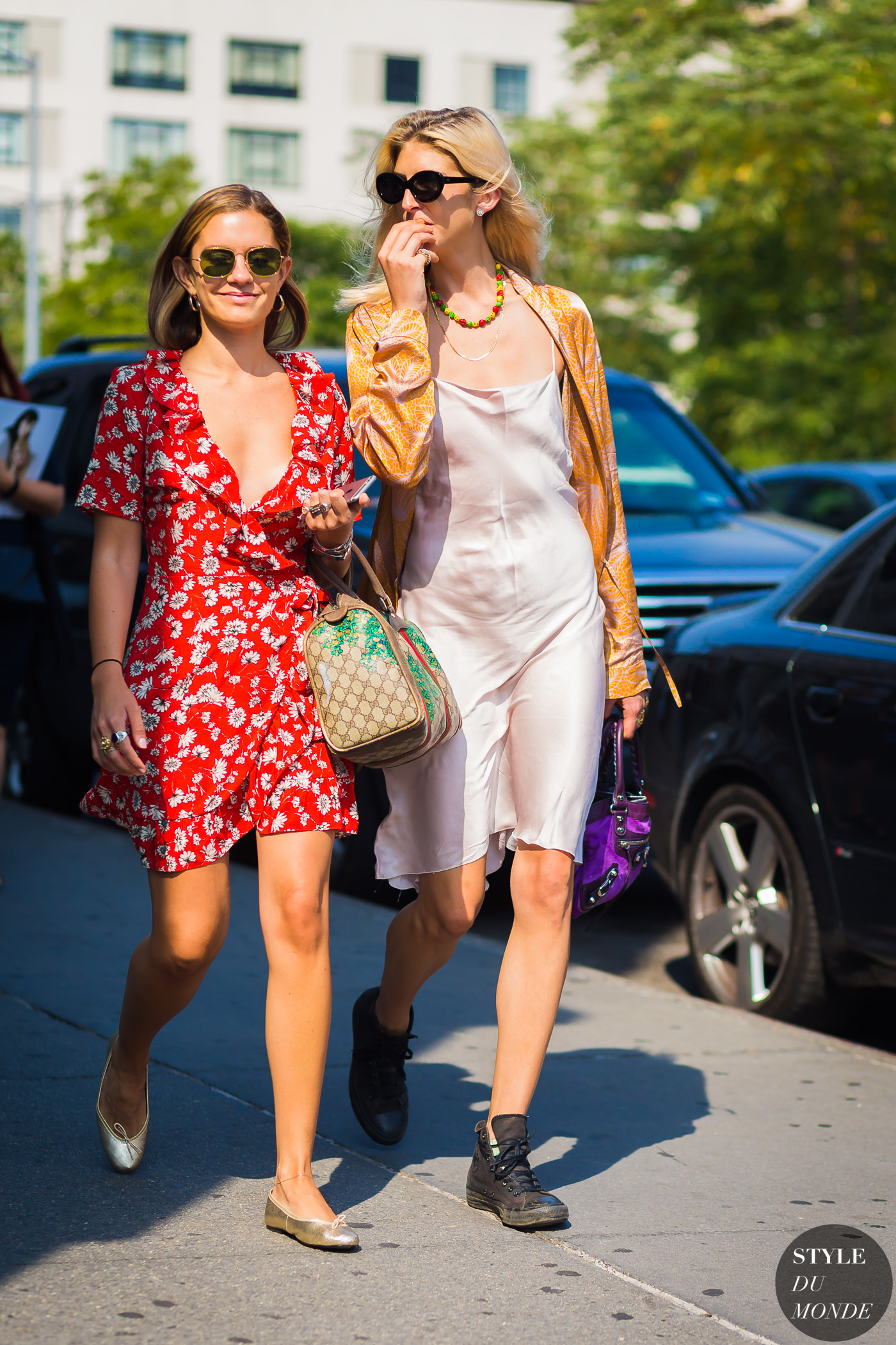 Kelly Connor and Emma Morrison by STYLEDUMONDE Street Style Fashion Photography