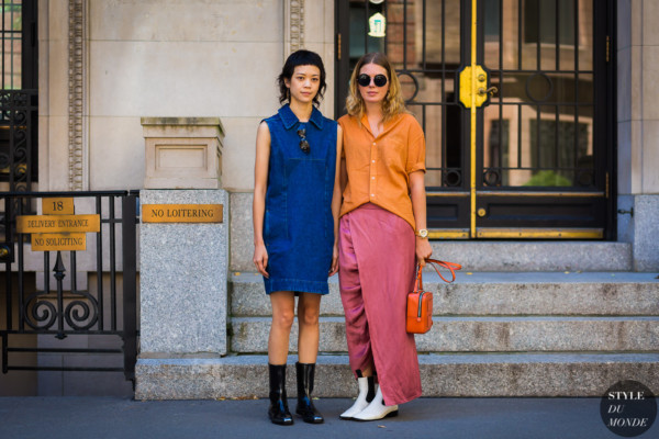 Patty Lu and Megan Bowman Gray by STYLEDUMONDE Street Style Fashion Photography