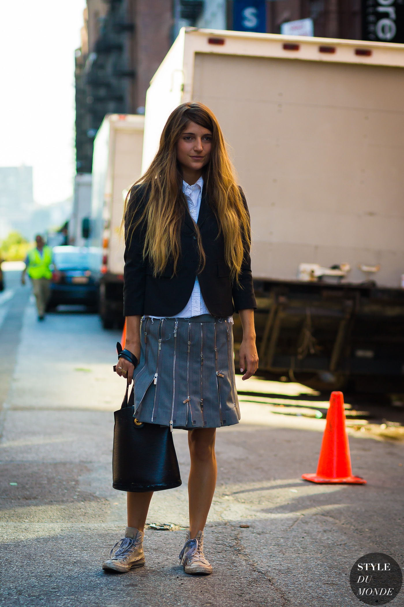 Before Thom Browne by STYLEDUMONDE Street Style Fashion Photography