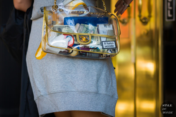Chanel transparent bag by STYLEDUMONDE Street Style Fashion Photography
