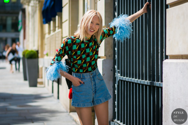 Model Soo Joo Park after Jean Paul Gaultier
