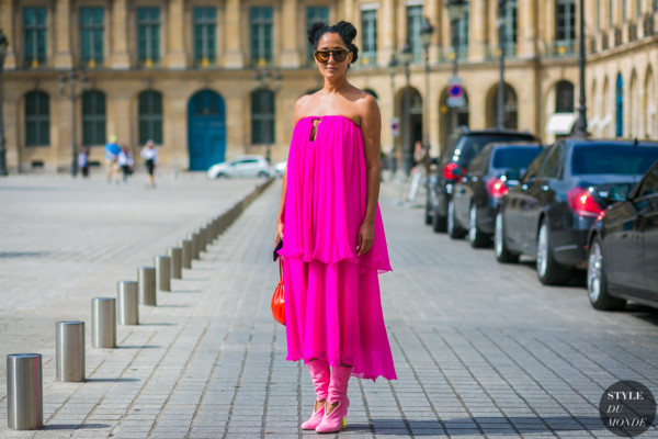 Tracee Ellis Ross at Paris Haute Couture