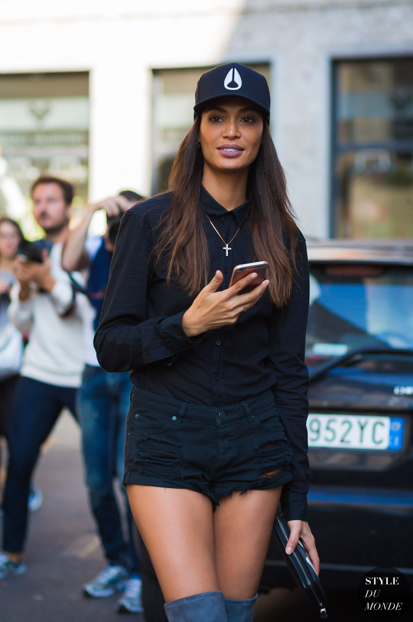 Joan Smalls by STYLEDUMONDE Street Style Fashion Photography0E2A8975