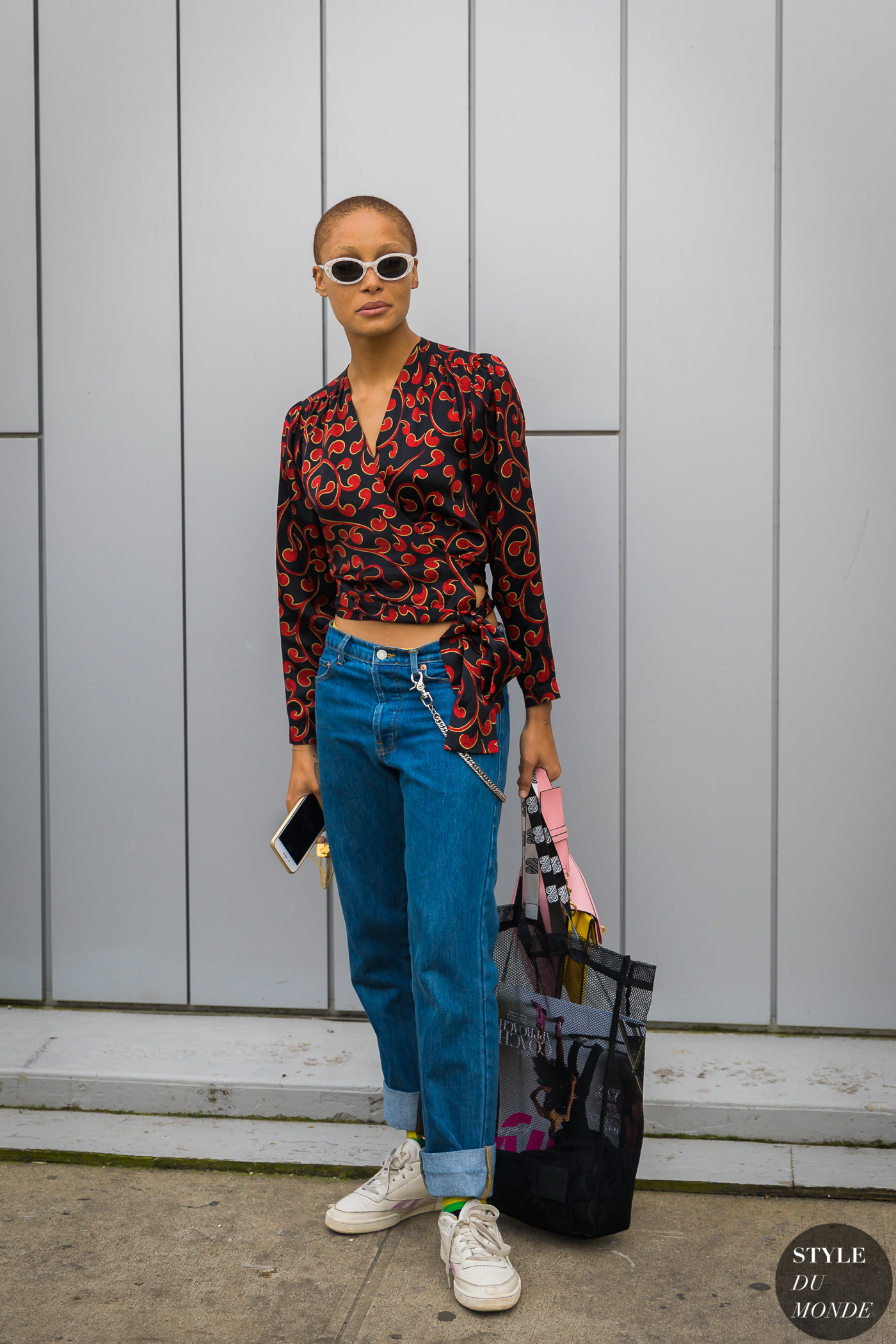 Adwoa Aboah by STYLEDUMONDE Street Style Fashion Photography