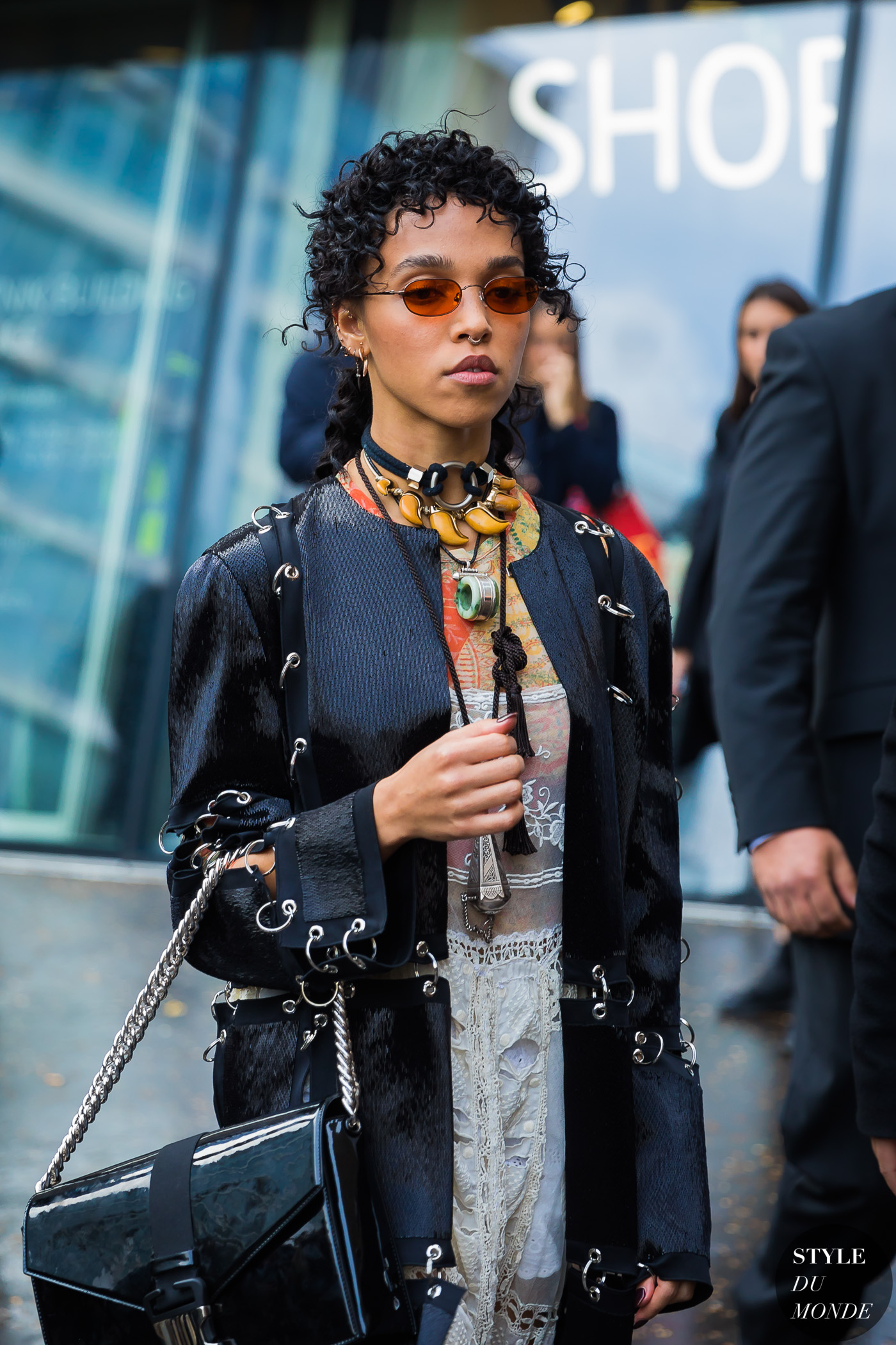 FKA Twigs by STYLEDUMONDE Street Style Fashion Photography
