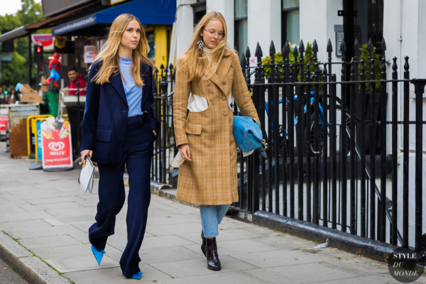 Pernille Teisbaek and Alexandra Carl by STYLEDUMONDE Street Style Fashion Photography