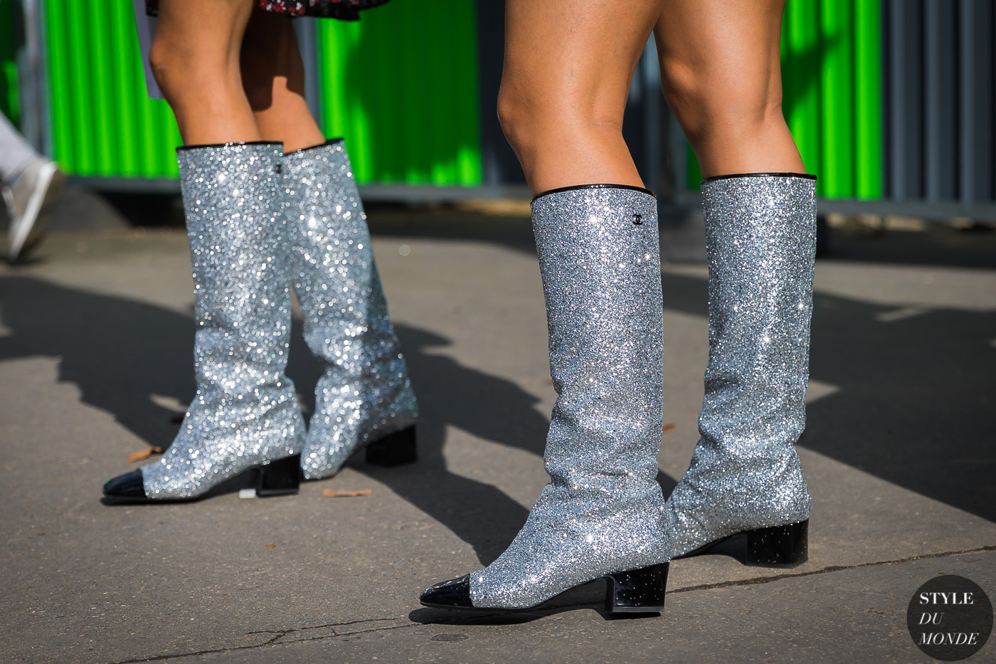 Chanel boots by STYLEDUMONDE Street Style Fashion Photography_48A3505