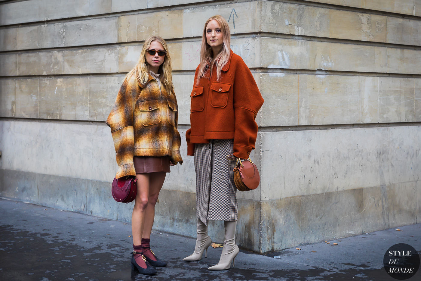 Courtney Trop and Charlotte Groeneveld by STYLEDUMONDE Street Style Fashion Photography_48A8515