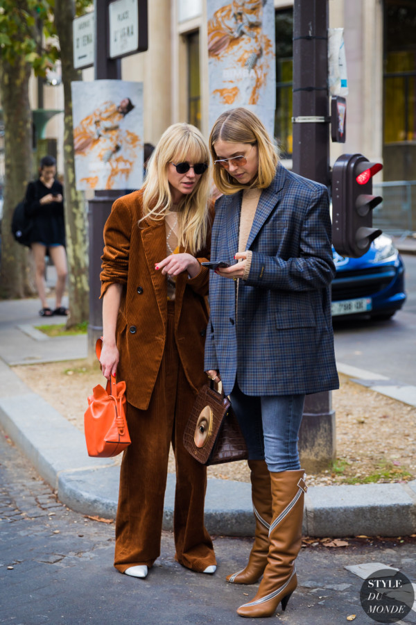 Jeanette Friis Madsen and Pernille Teisbaek by STYLEDUMONDE Street Style Fashion Photography_48A4889