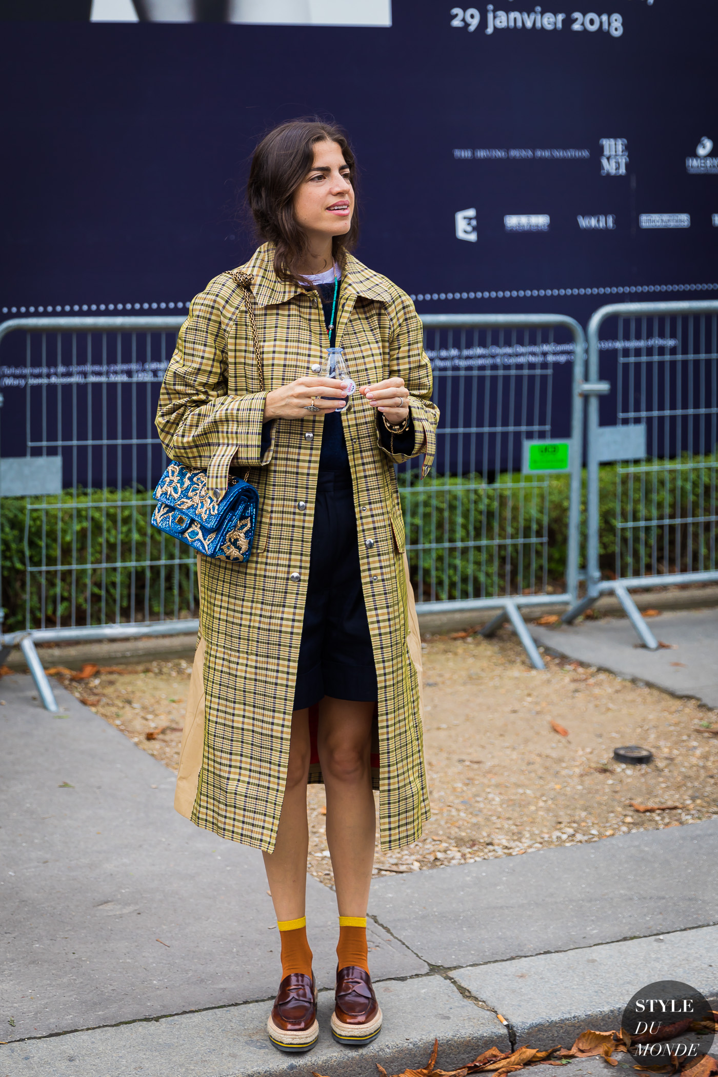 Leandra Medine Cohen after viewing the Sacai collection