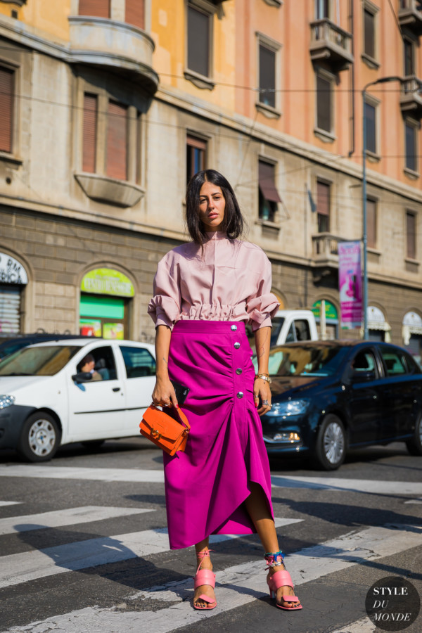Gilda Ambrosio after the Marni SS18 show