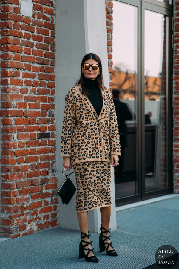 Giovanna Battaglia by STYLEDUMONDE Street Style Fashion Photography FW18 20180221_48A9676