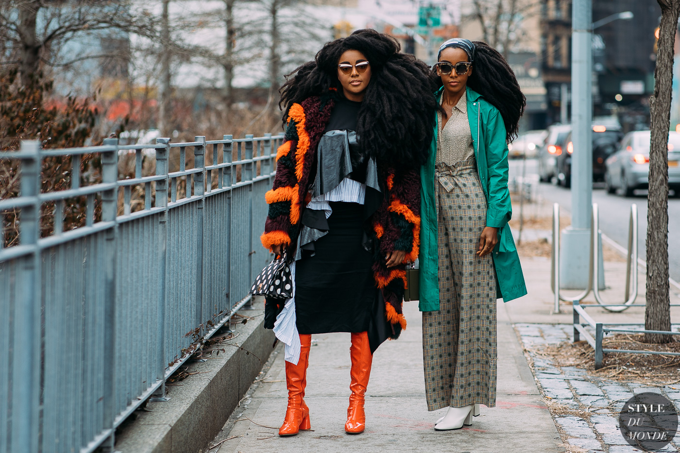 TK Wonder and Cipriana Quann by STYLEDUMONDE Street Style Fashion Photography NY FW18 20180210_48A4978