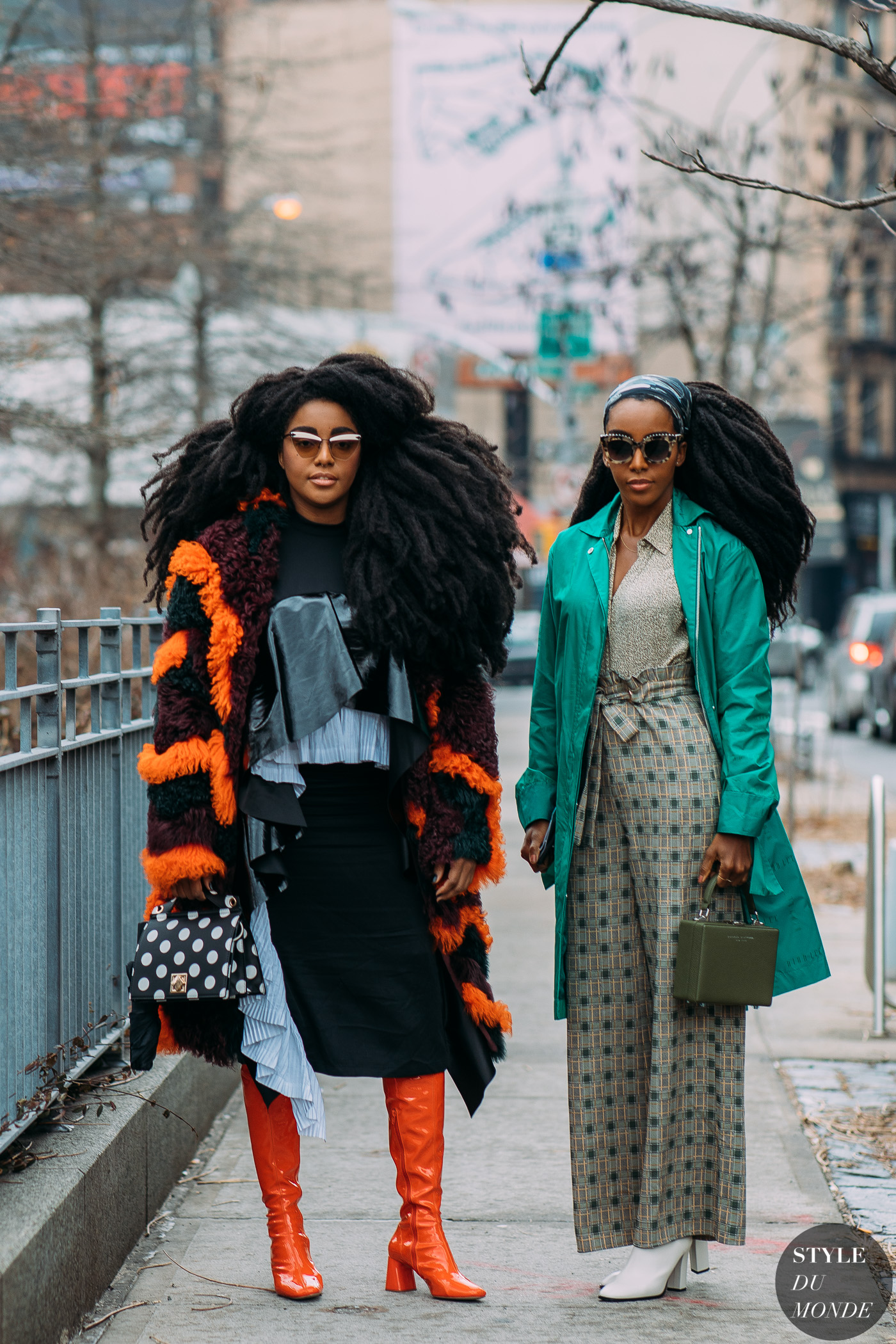 TK Wonder and Cipriana Quann by STYLEDUMONDE Street Style Fashion Photography NY FW18 20180210_48A4989