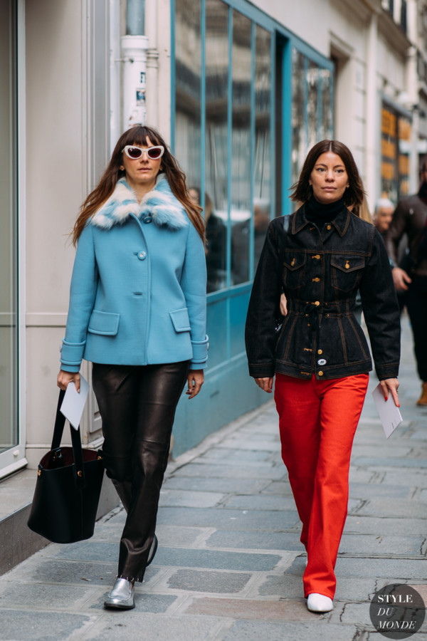 Brie Welch and Annina Mislin by STYLEDUMONDE Street Style Fashion Photography FW18 20180305_48A6696